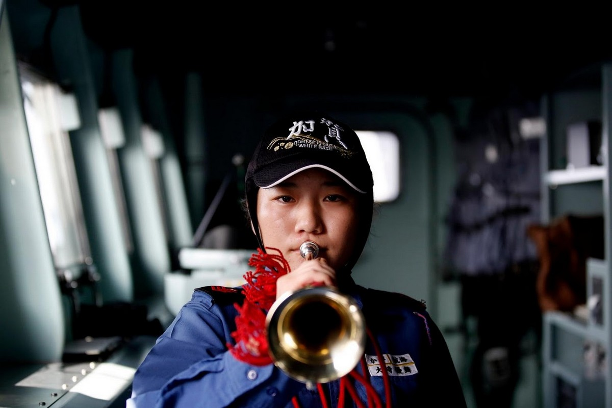 Женщины-военнослужащие японских сил самообороны