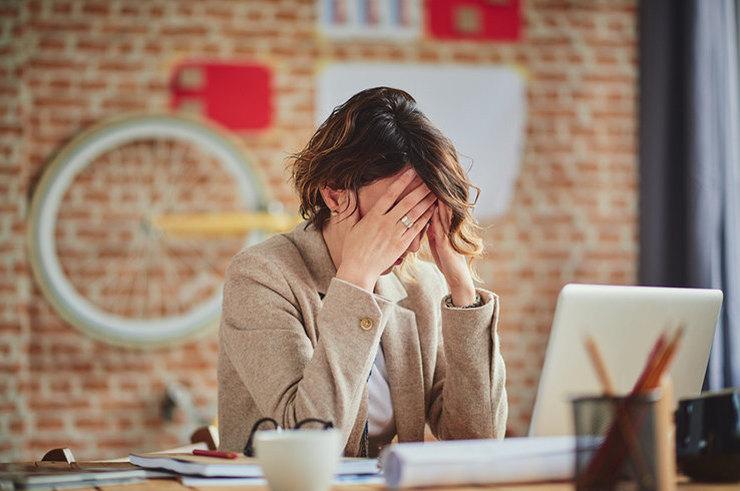 Стресс может вызывать проблемы со здоровьем