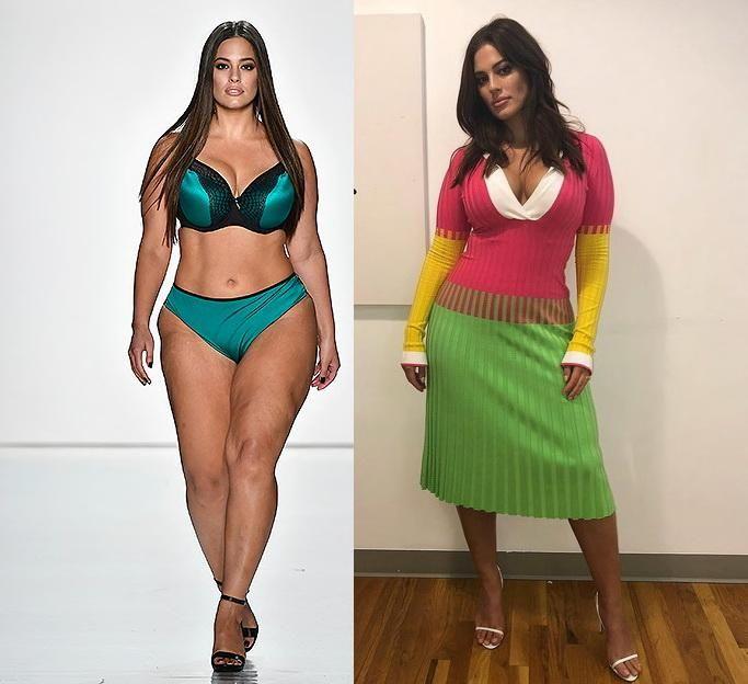 Фанаты модели плюс-сайз взбесились из-за ее похудения