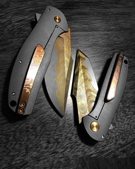 Небольшие искусные ножи