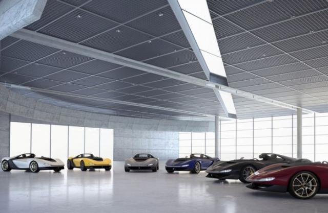 Уникальный суперкар Ferrari Sergio