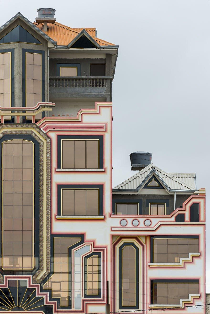Красочная архитектура Эль-Альто, самого высокорасположенного мегаполиса мира