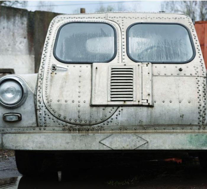 Машина-амфибия Арго из 1960-х