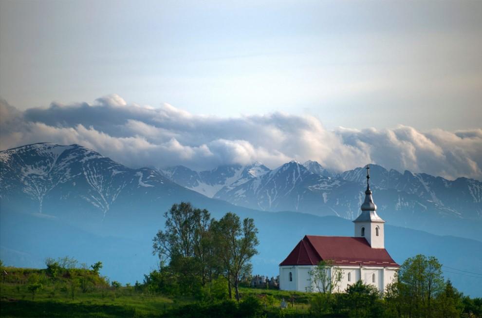 Сказочная красота Румынии на фотографиях