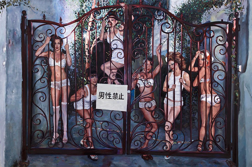 Соблазнительные девушки на работах Натальи Фабии