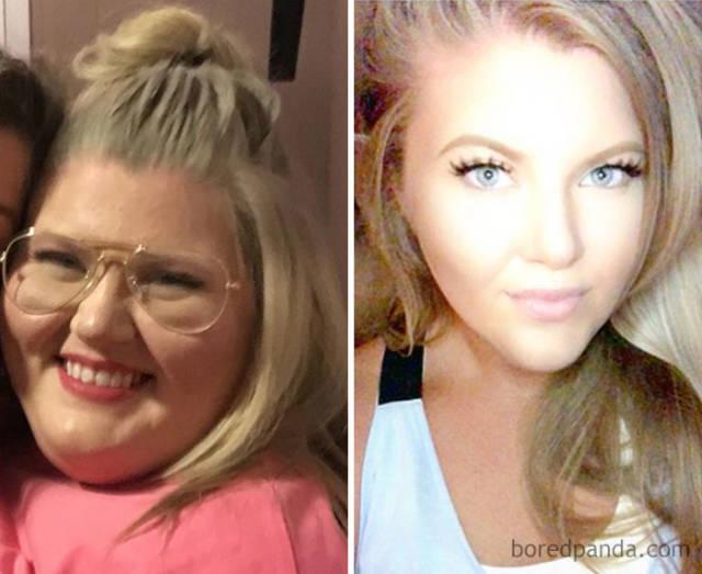 Люди, которые смогли изменить свое тело: до и после