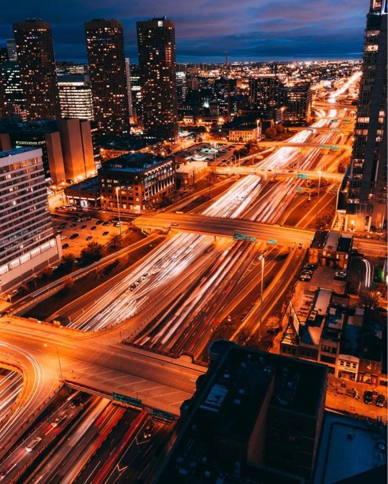 Чикаго без людей на снимках Майкла Салисбери