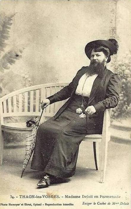 История одной бородатой француженки