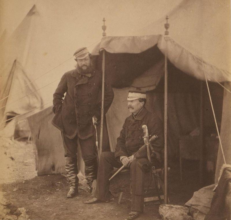 Редкие кадры Крымской войны в 1850 годах