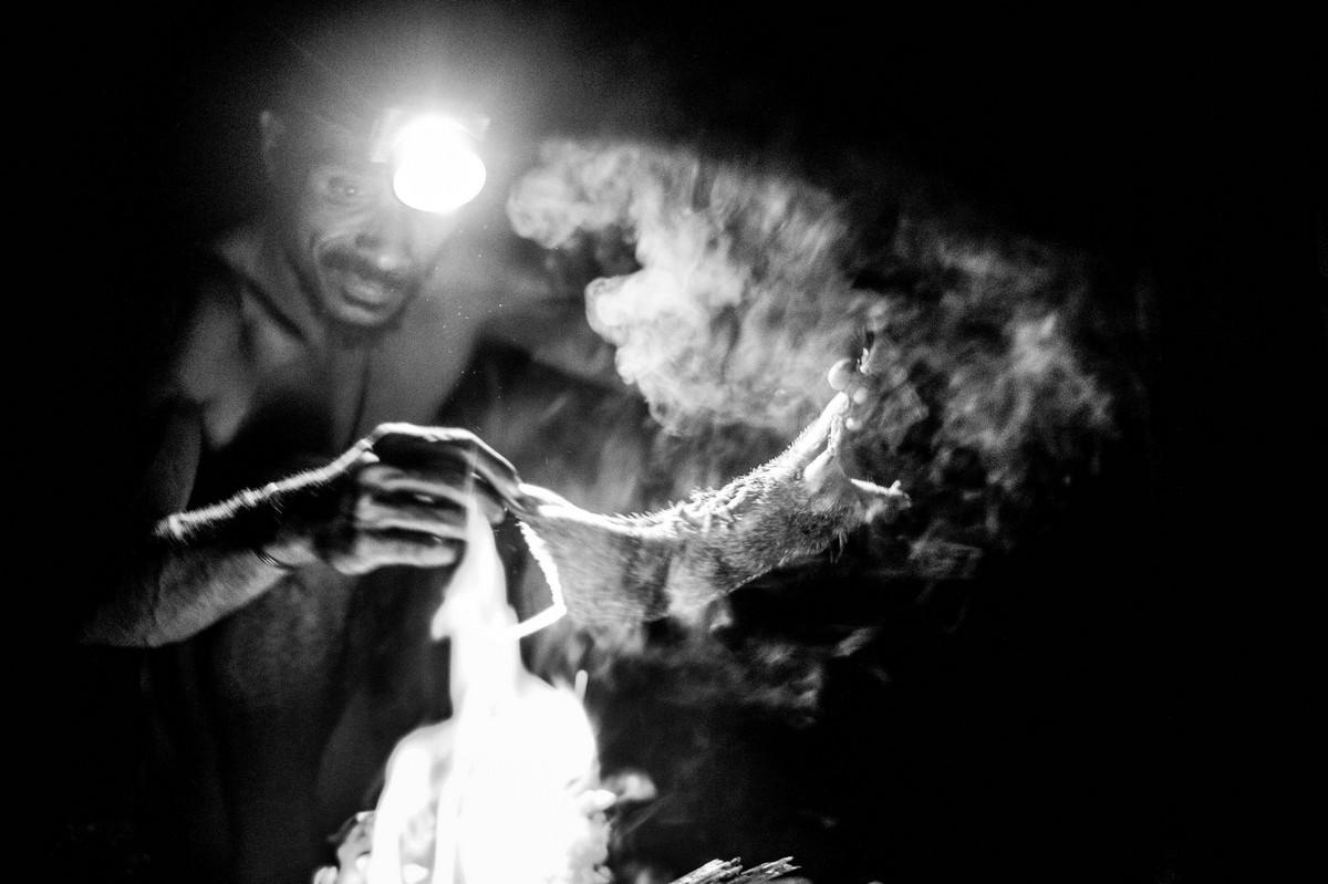 Исчезающее племя Короваи в Папуа-Новой Гвинеи