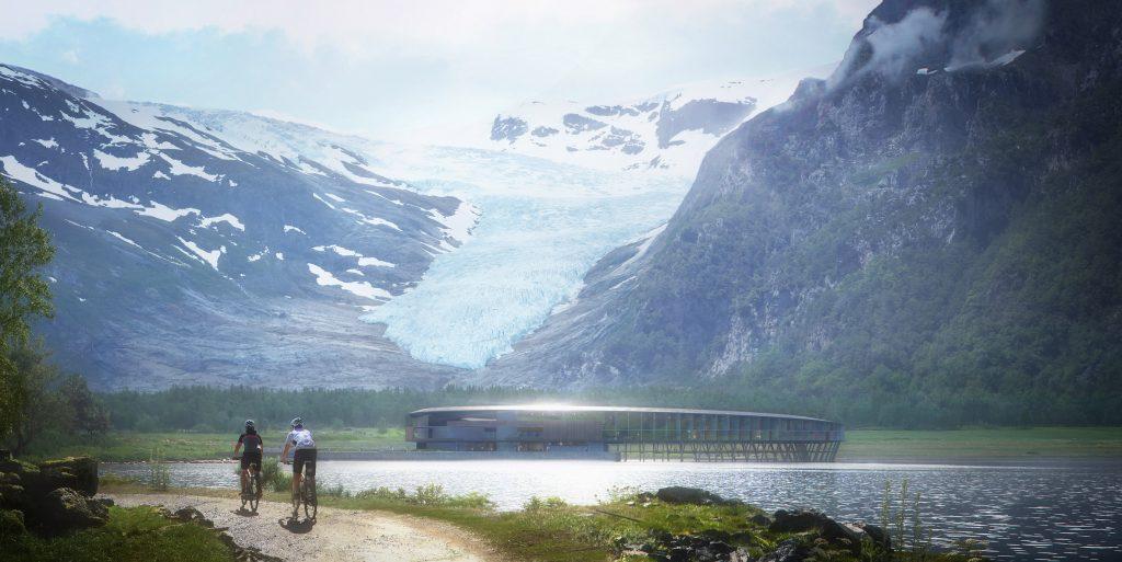 Отель на солнечных батареях в арктическом климате