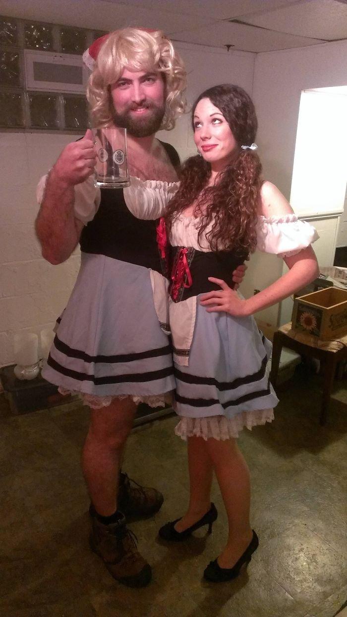 Самые крутые парные костюмы на Хэллоуин