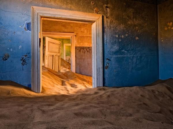 Колманскоп – город призраков в пустыне Намиб