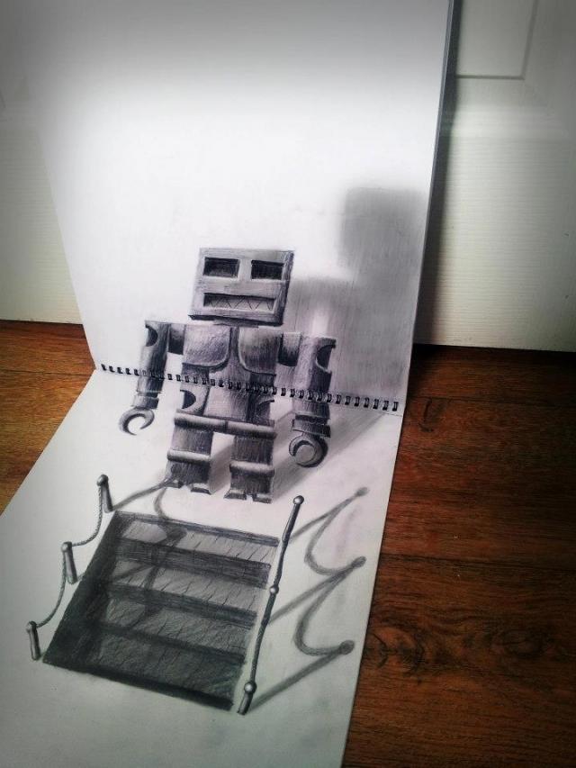 Мастерские 3D-рисунки от Рамона Брюина