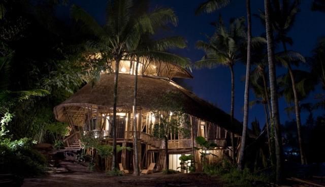 Зеленая деревня на острове Бали