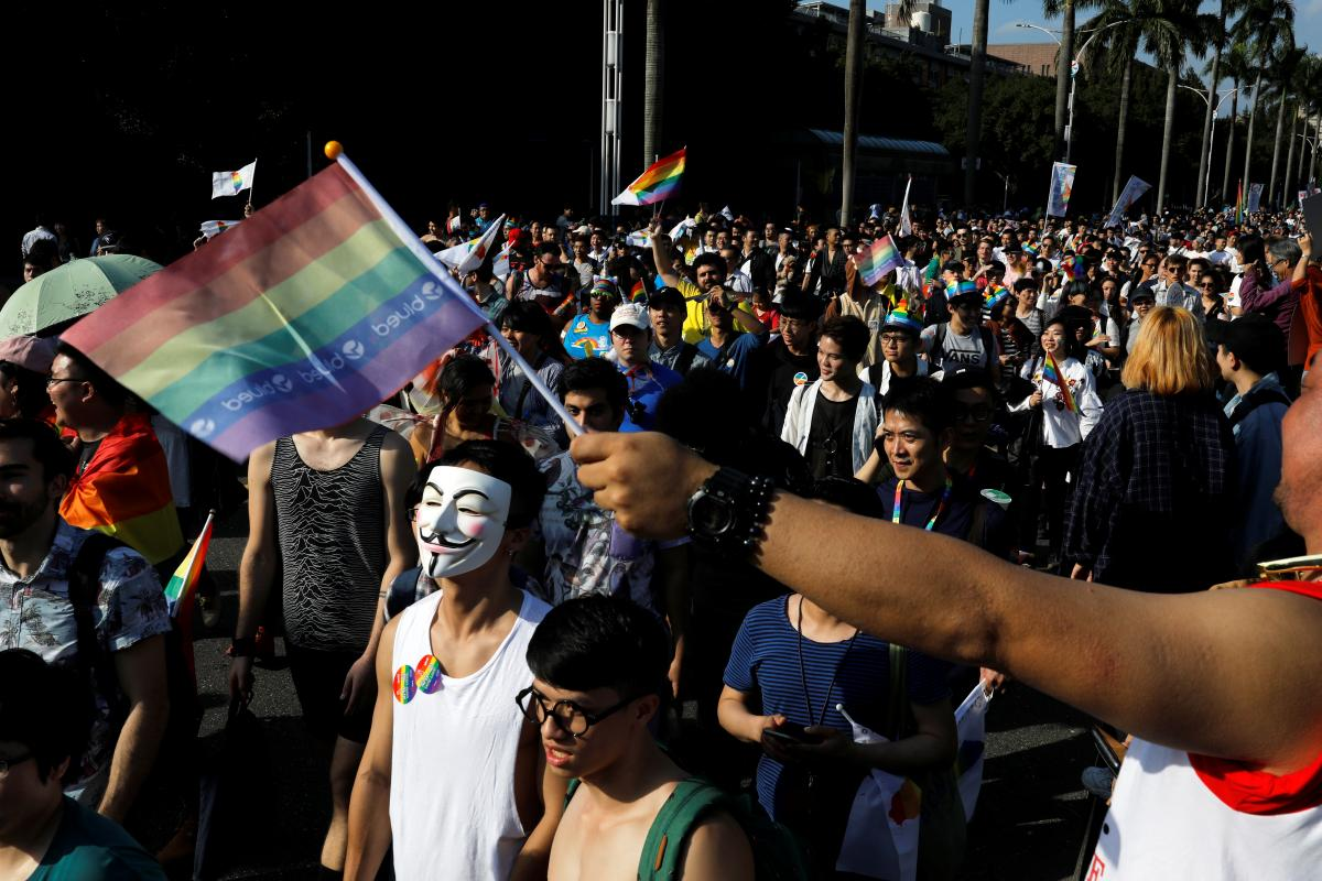 Крупнейший в Азии гей-парад в столице Тайваня