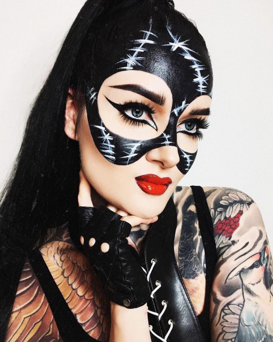 Шикарный макияжа на Хэллоуин, который сделает вас королевой вечеринки