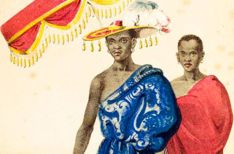 Женщины-воительницы африканского государства Дагомея