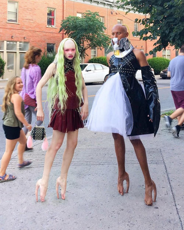 Канадский бренд разработал ботинки, которые выглядят как человеческая кожа