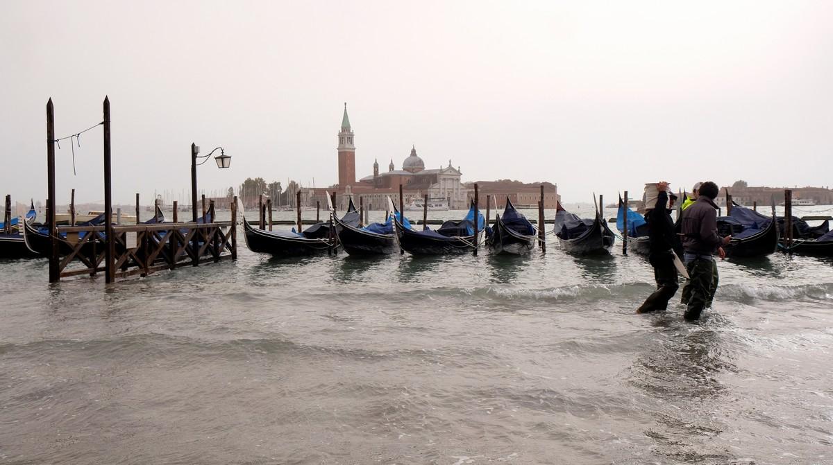 Венеция оказалась под водой