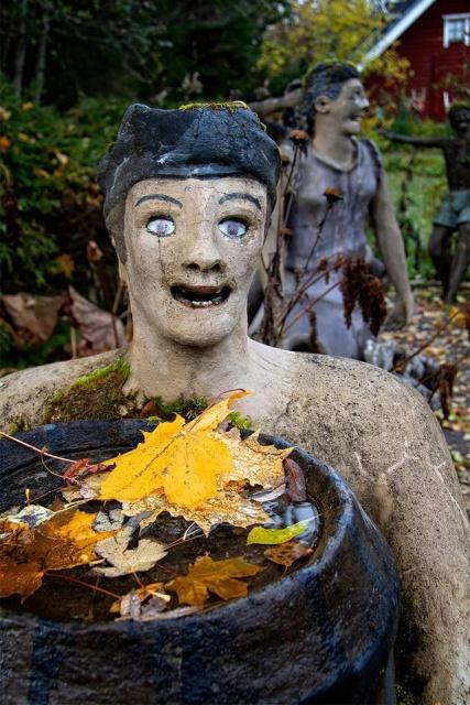 Очень странный парк в коммуне Париккала в Финляндии