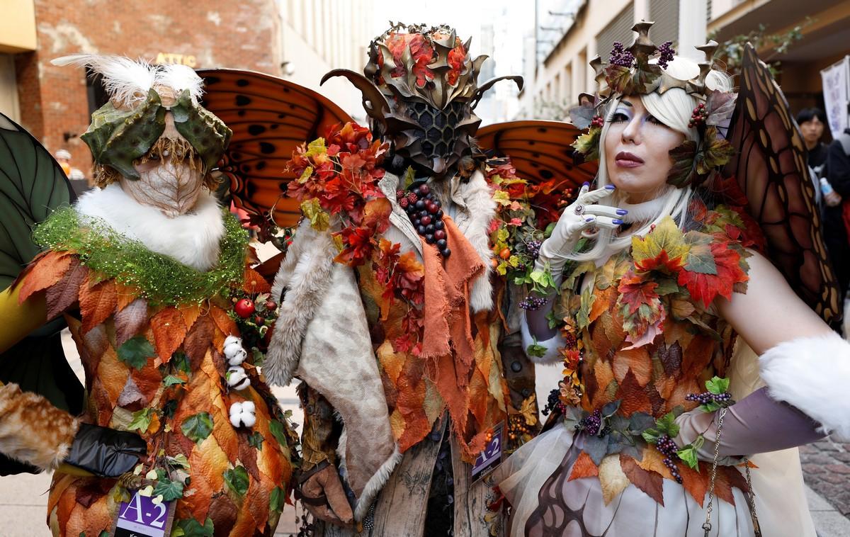Парады на Хэллоуин со всего мира