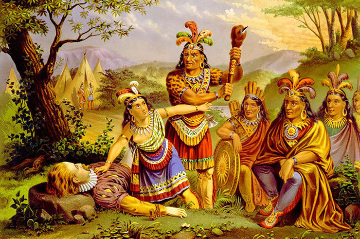 Какова реальная история Покахонтас