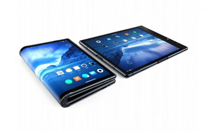 Первый гибкий смартфон представили в Китае