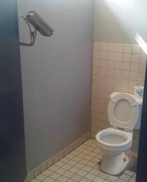 Удивительные туалеты в разных заведениях