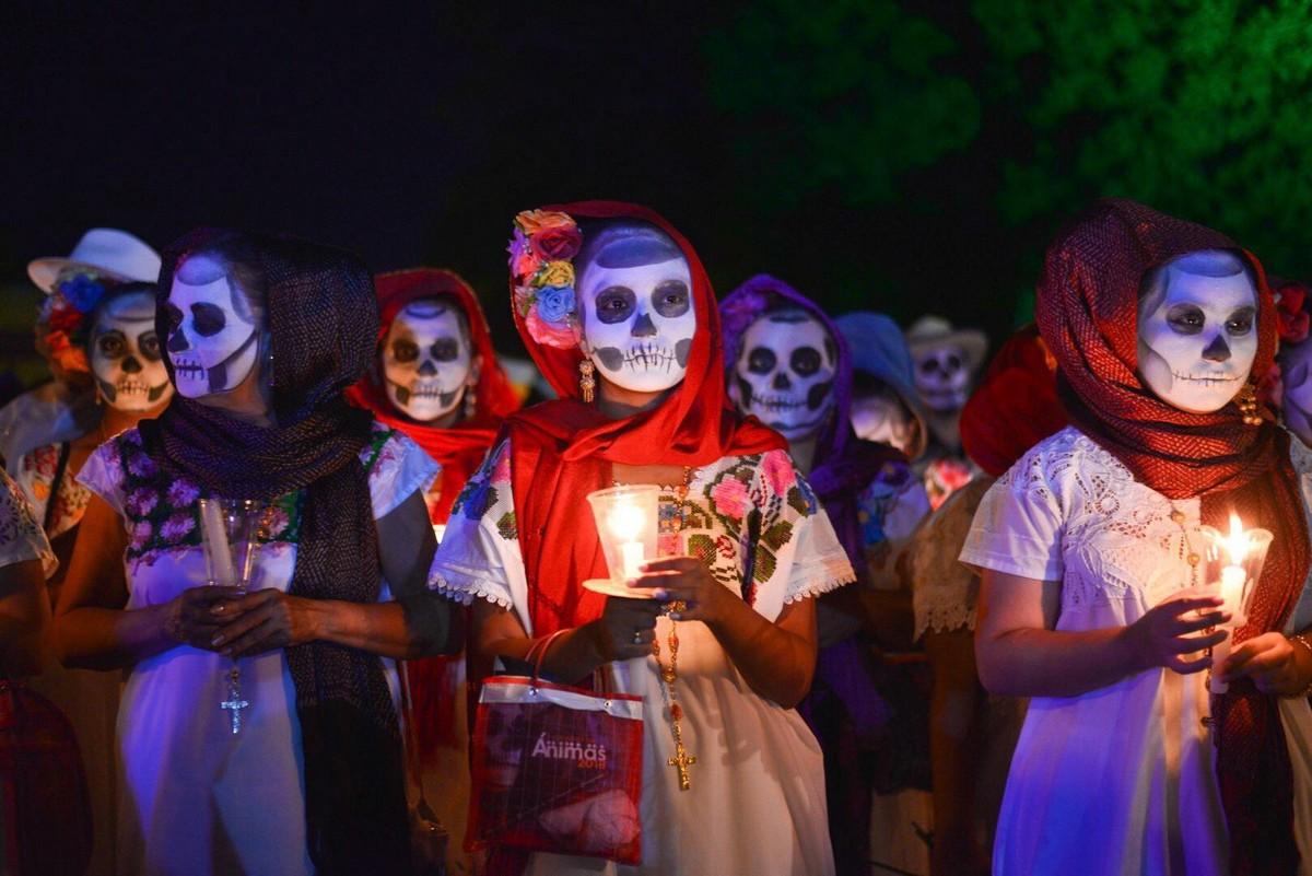 Фестиваль День Мертвых в Мексике