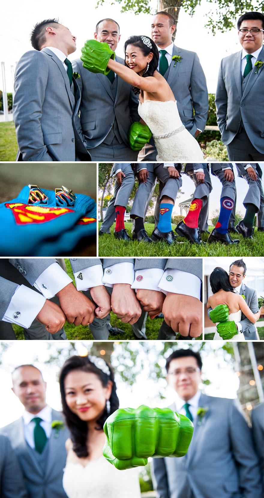 16 крутых тематических свадеб
