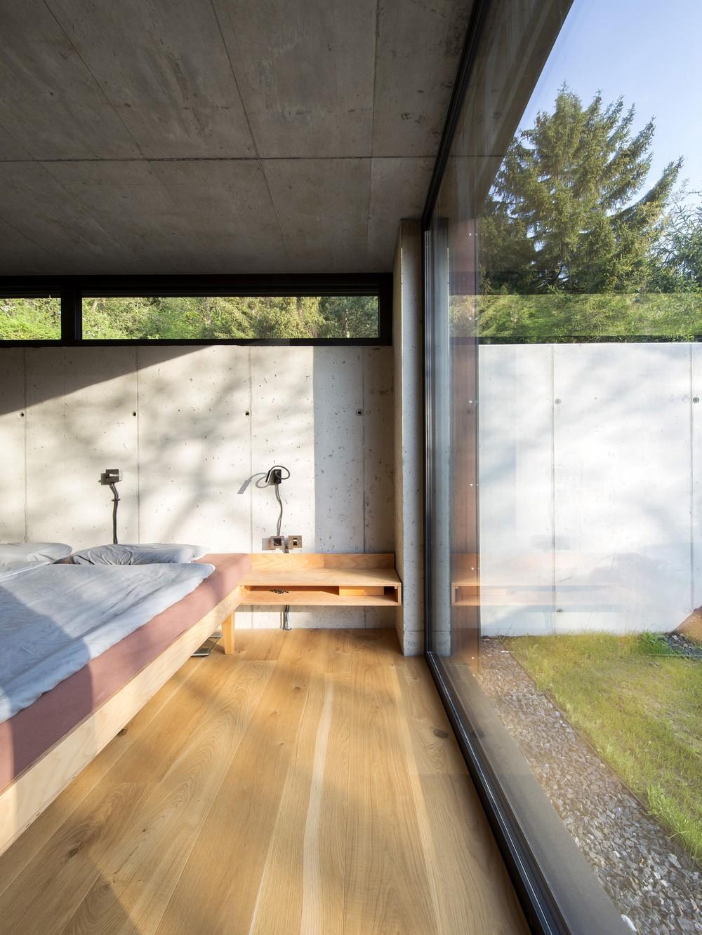 Дом на крутом склоне в Австрии