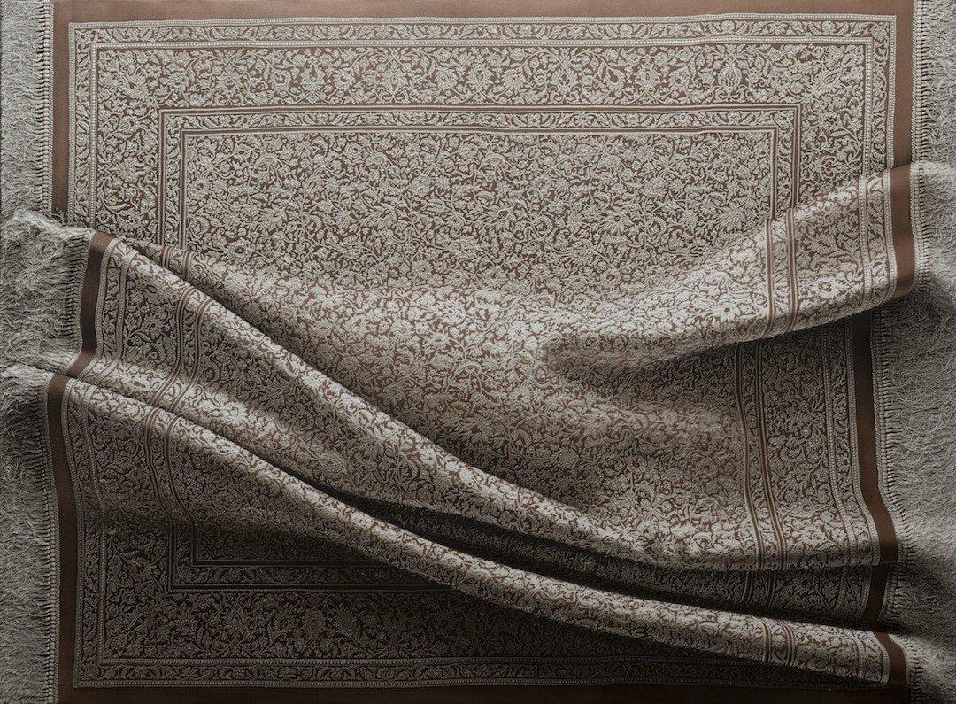 Гиперреалистичные картины с коврами от Антонио Сантина