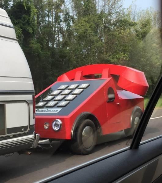 Забавные и необычные автомобили