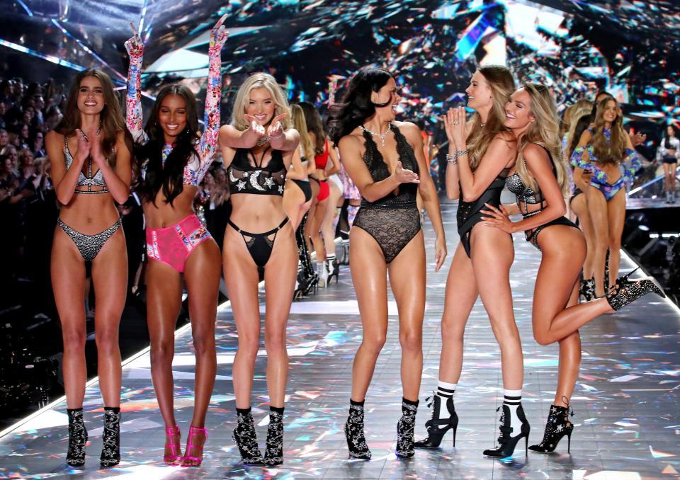 Горячее шоу Victoria's Secret 2018 в Нью-Йорке