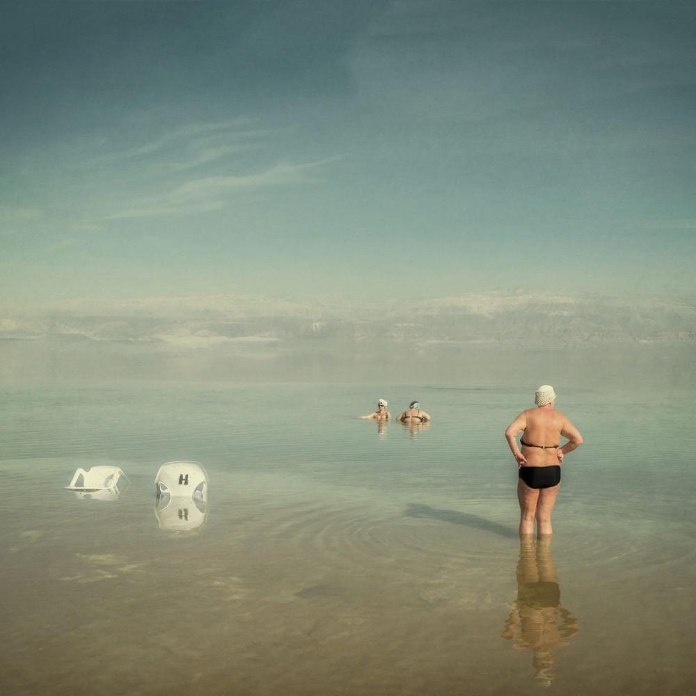 Содом - фотопроект Александра Бронфера с берегов Мёртвого моря