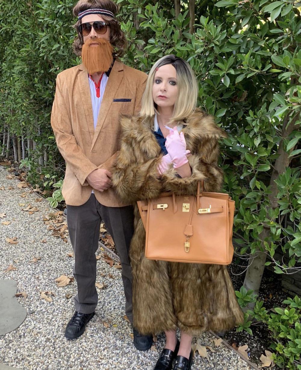Образы знаменитостей на Хэллоуин 2018