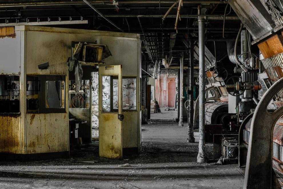 Заброшенные промышленные предприятия в США и Канаде
