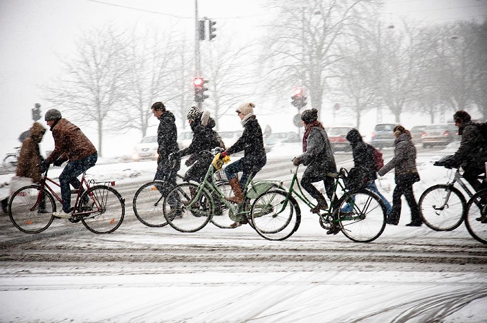 9 советов для зимней езды на велосипеде