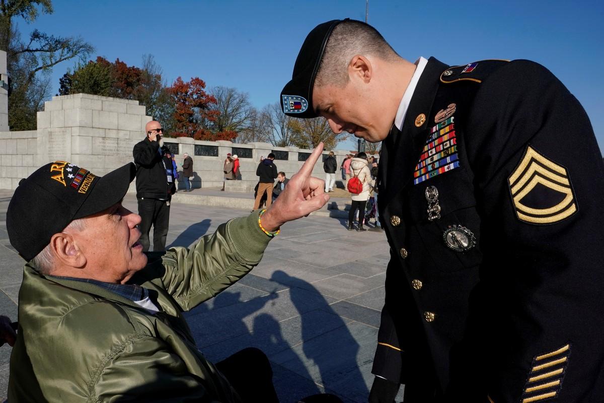 День ветеранов в США 2018