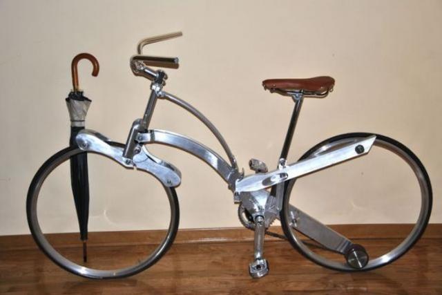 Компактный велосипед-трансформер