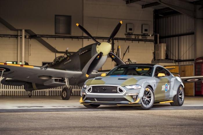 Ford Mustang в честь Spitfire