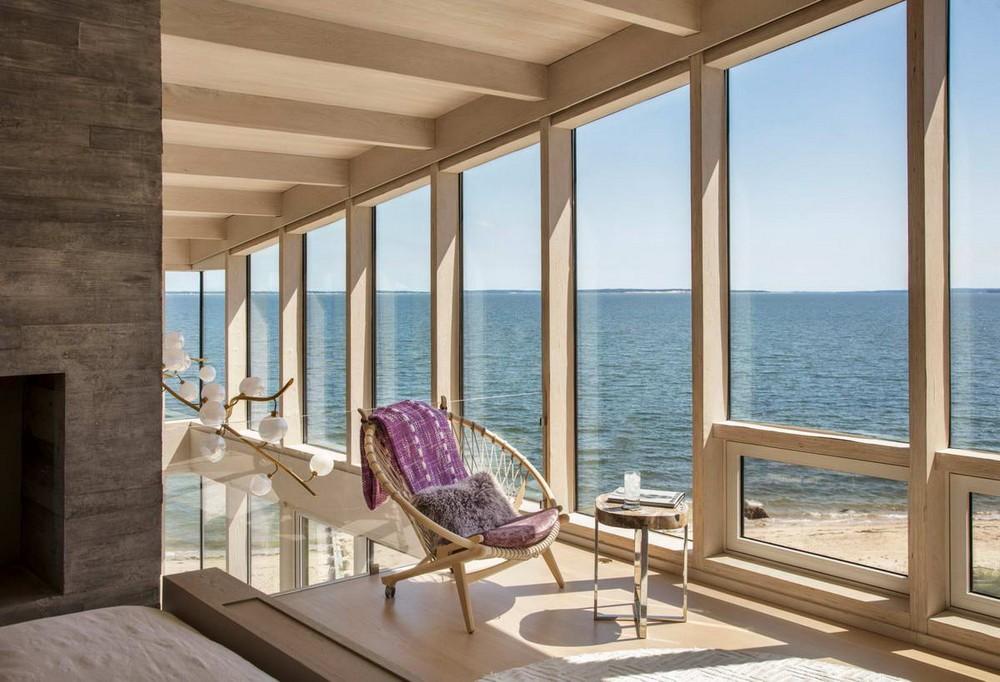 Загородная резиденция у залива в США