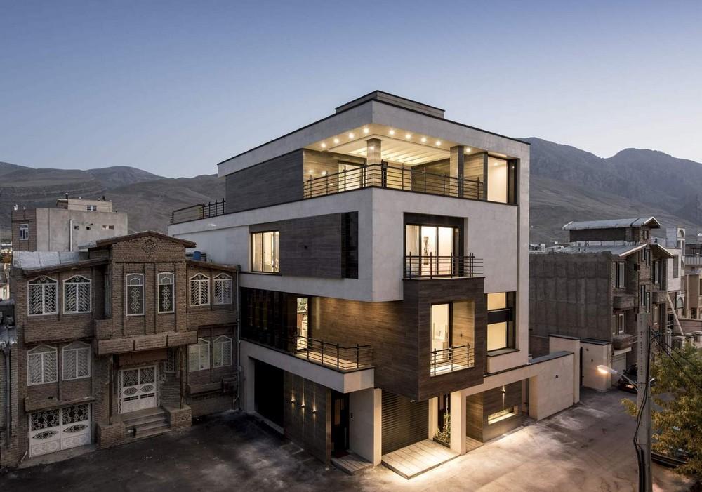 Дом в живописной горной долине в Иране