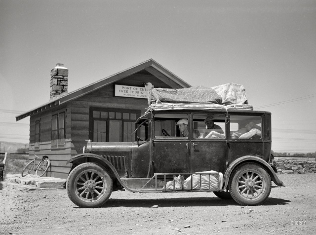 Редкие архивные кадры из Америки