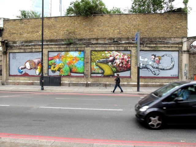 Уличный художник Brask