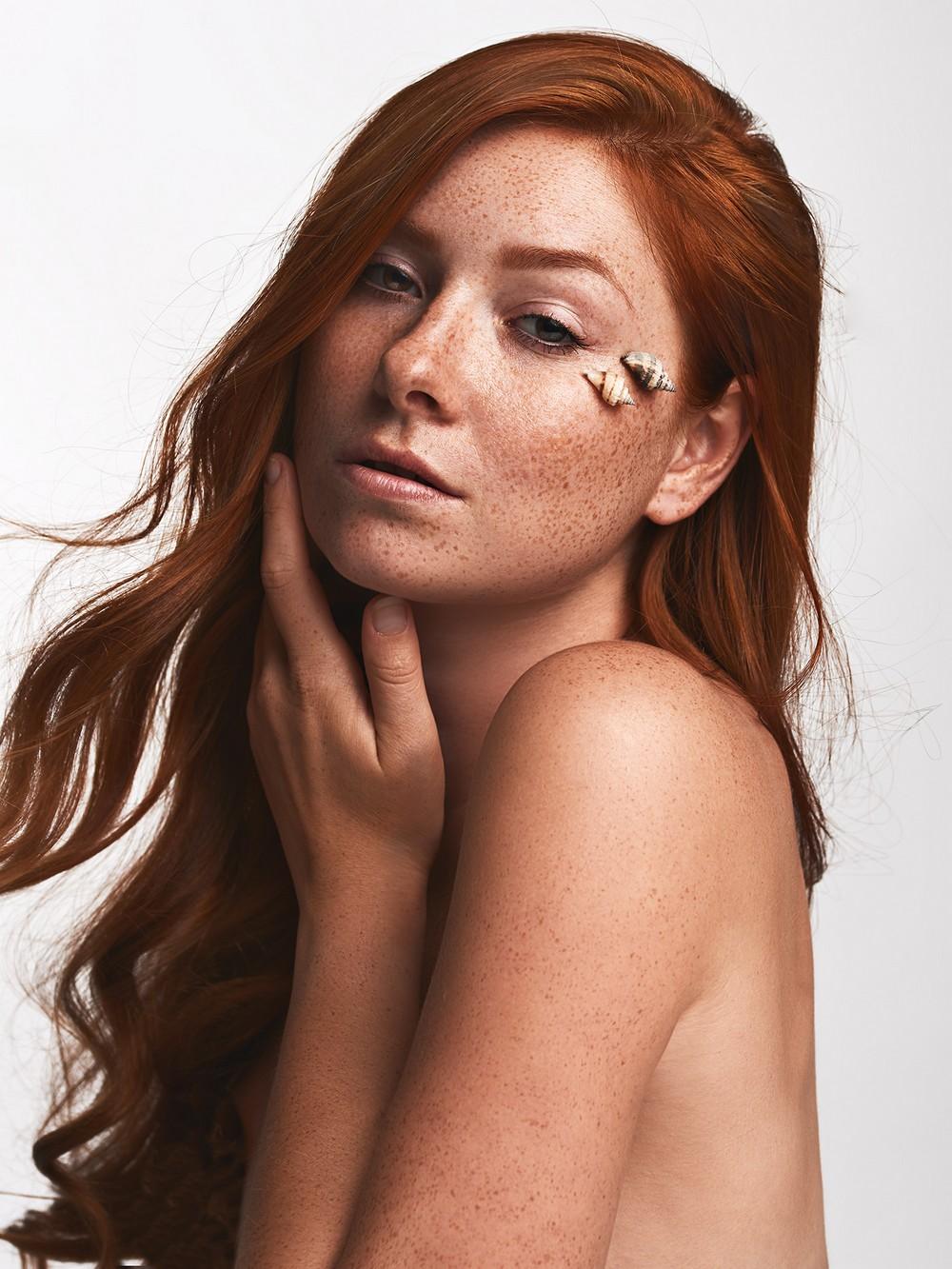 Чувственные портреты девушек от Эрика Хюкштеда