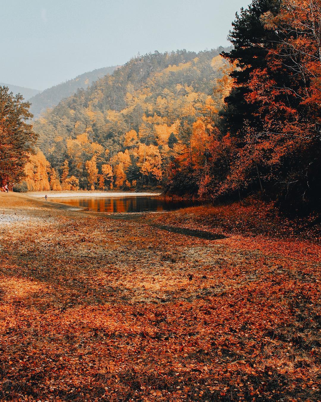 Живописные снимки Байкальского региона и Сибири от Алексея Матвеева