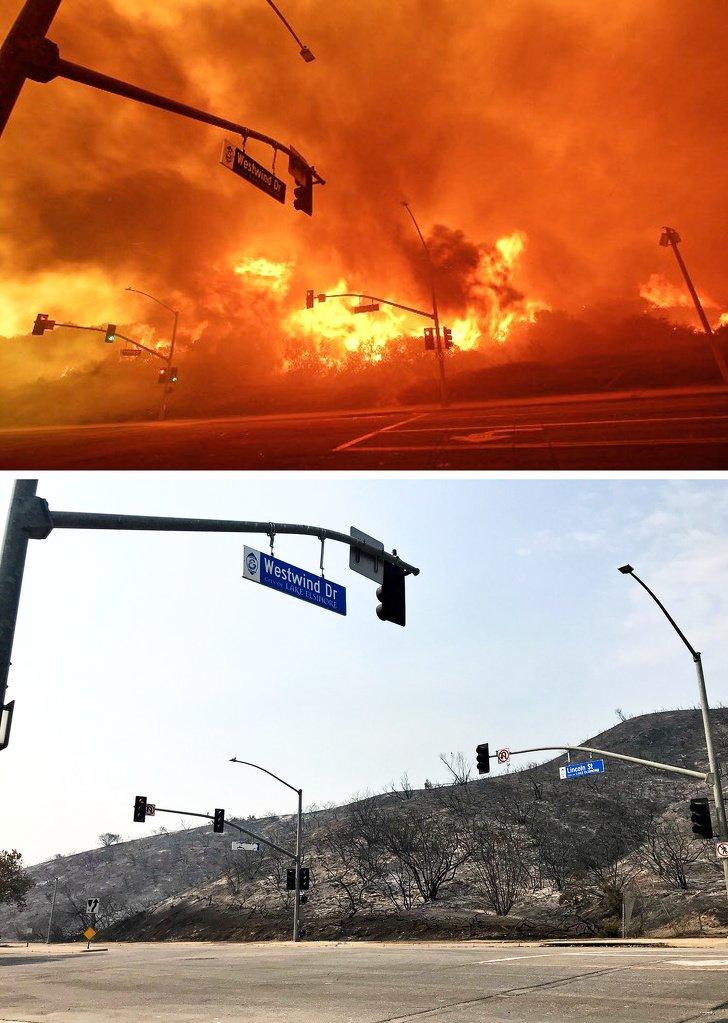 Неожиданные перемены на снимках до и после