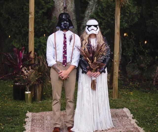 Смешные и забавные свадебные снимки